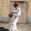 Maxi Dress สีขาว thumbnail 6
