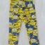 H&M : legging พิมพ์ลายมินเนียน สีเหลือง size : 8-10y (สินค้ามีตำหนิ) thumbnail 1
