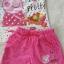 set เสื้อสีขาว+กางเกงขาสั้นสีชมพู Peppa pig size : 1-2y / 2-4y / 6-8y / 8-10y thumbnail 2