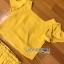เซ็ตเสื้อคร็อปสั้นและกระโปรงสีเหลืองมัสตาร์ด thumbnail 17