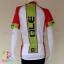 เสื้อจักรยานผู้หญิงแขนสั้น ALE 16 (12) สีชมพูขาวเขียวหลังขาว thumbnail 2