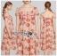 เดรสผ้าลูกไม้ทอลายดอกเดซี่สีพีช thumbnail 8