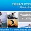 รองเท้าจักรยานเสือหมอบ TIEBAO รุ่น TB36-B1521 สีดำเขียว thumbnail 2