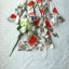 เดรสเนื้อผ้าเครปพิมพ์ลายดอกกุหลาบสีแดง thumbnail 8