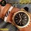 นาฬิกาข้อมือ Michael Kors MK8184 Michael Kors Dylan Chronograph Black Dial Black Rubber Men's thumbnail 8
