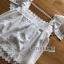 เสื้อแขนระบายผ้าลูกไม้สีขาวสไตล์วินเทจ thumbnail 18