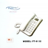 Fujitel FT-6132 LCD/White