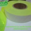 แถบ PVC สะท้อนแสงสีเหลืองมะนาว
