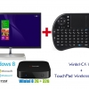 Wintel-CX-W8 + TouchPad Wireless