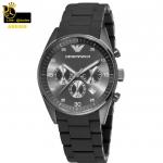 นาฬิกาข้อมือ Emporio Armani AR5889 Emporio Armani Men's 43mm AR5889 Sport Chronograph Silicone