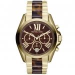 นาฬิกาข้อมือ Michael Kors รุ่น MK5696 Michael Kors Bradshaw Chronograph Tortoiseshell Ladies Watch MK5696 Size 43 mm