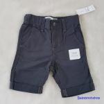 Oldnavy : กางเกงขาสามส่วน สีน้ำเงิน (มีสายปรับเอว) size : 3T / 5T