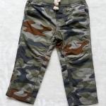 Carter's : กางเกงขายาว ลายพราง ทหาร เอวยางยืด size 3m / 24m