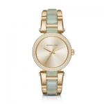 นาฬิกาข้อมือ Michael Kors MK4317 Michael Kors Delray Pave Champagne Dial Ladies Watch MK4317