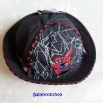 หมวก ลายปัก สไปเดอร์แมน สีดำ