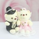 ตุ๊กตาหมีคู่แต่งงาน