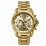 นาฬิกาข้อมือ Michael Kors รุ่น MK5605 Michael Kors Women's Bradshaw Gold Watch MK5605 Size 43 mm