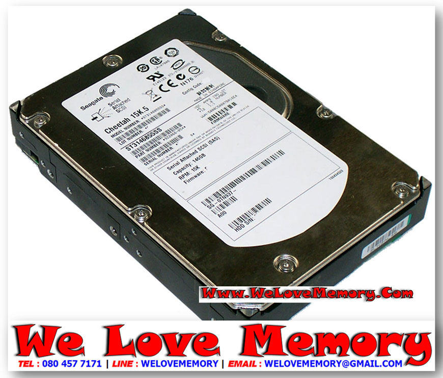 ST3146855LW, SEAGATE 146GB 15K RPM ULTRA320 SCSI 3 5INC 68PIN NON HOT-PLUG  HDD