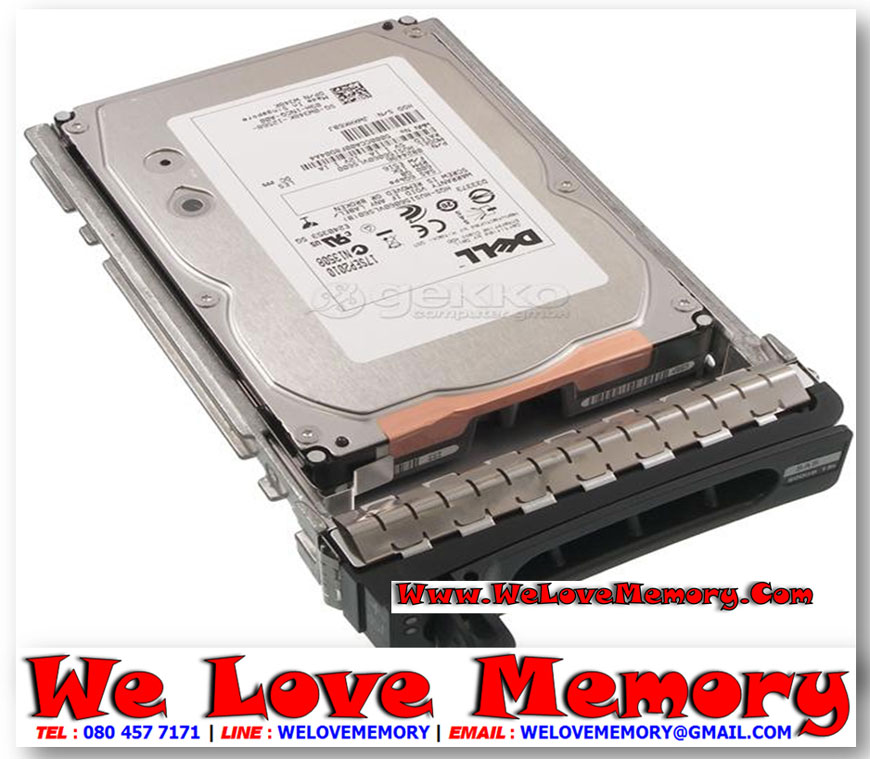 "Dell 300GB 6G 15K 3.5/"" SAS 400-19732 HDD Hard Drive"