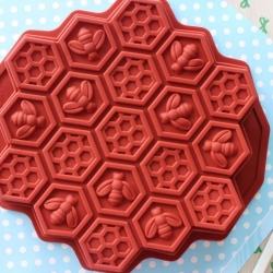 พิมพ์ขนม รังผึ้ง ขนาดเล็ก 15กรัม/หลุม B277