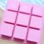 พิมพ์ขนม สี่เหลี่ยมจตุรัส 9 ช่อง 100กรัม/ช่อง B512 thumbnail 3