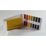กระดาษลิตมัสสีเหลือง 0-14