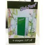 เครื่องกรองน้ำ 4 ขั้นตอน UF Unipure Green