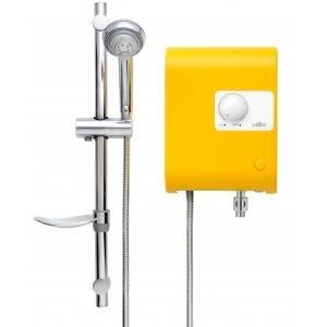 เครื่องทำน้ำอุ่น MEX รุ่น CUBE 5C (YB) สีเหลือง 5,100 วัตต์