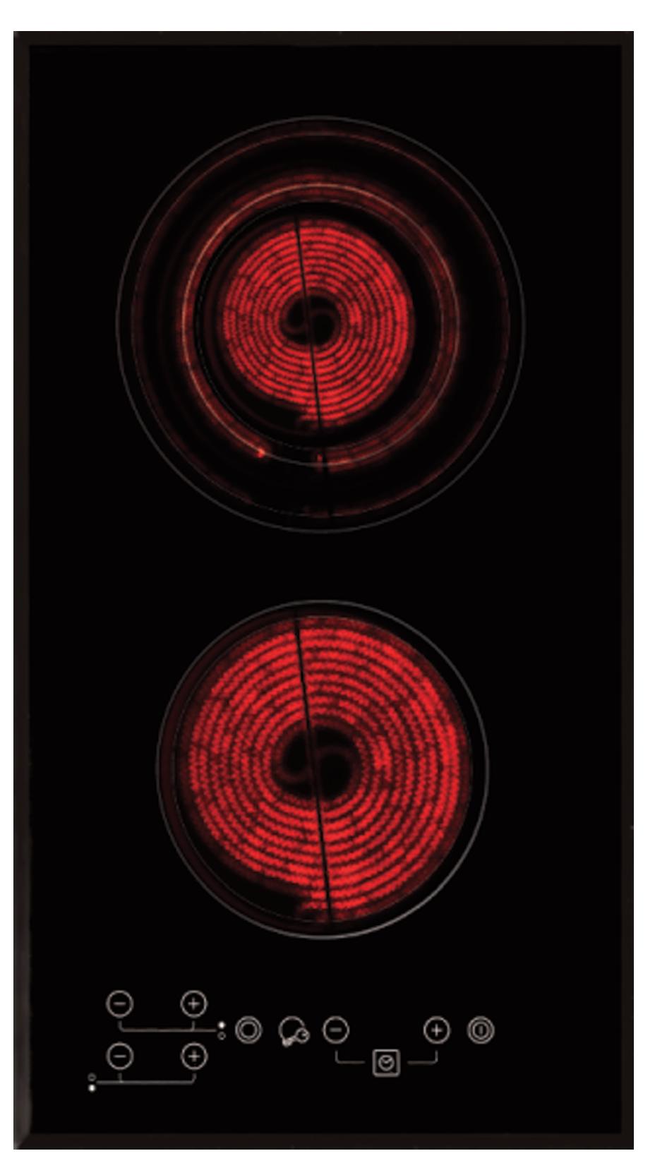 เตาไฟฟ้า Tecnogas รุ่น TNP F 302 VX
