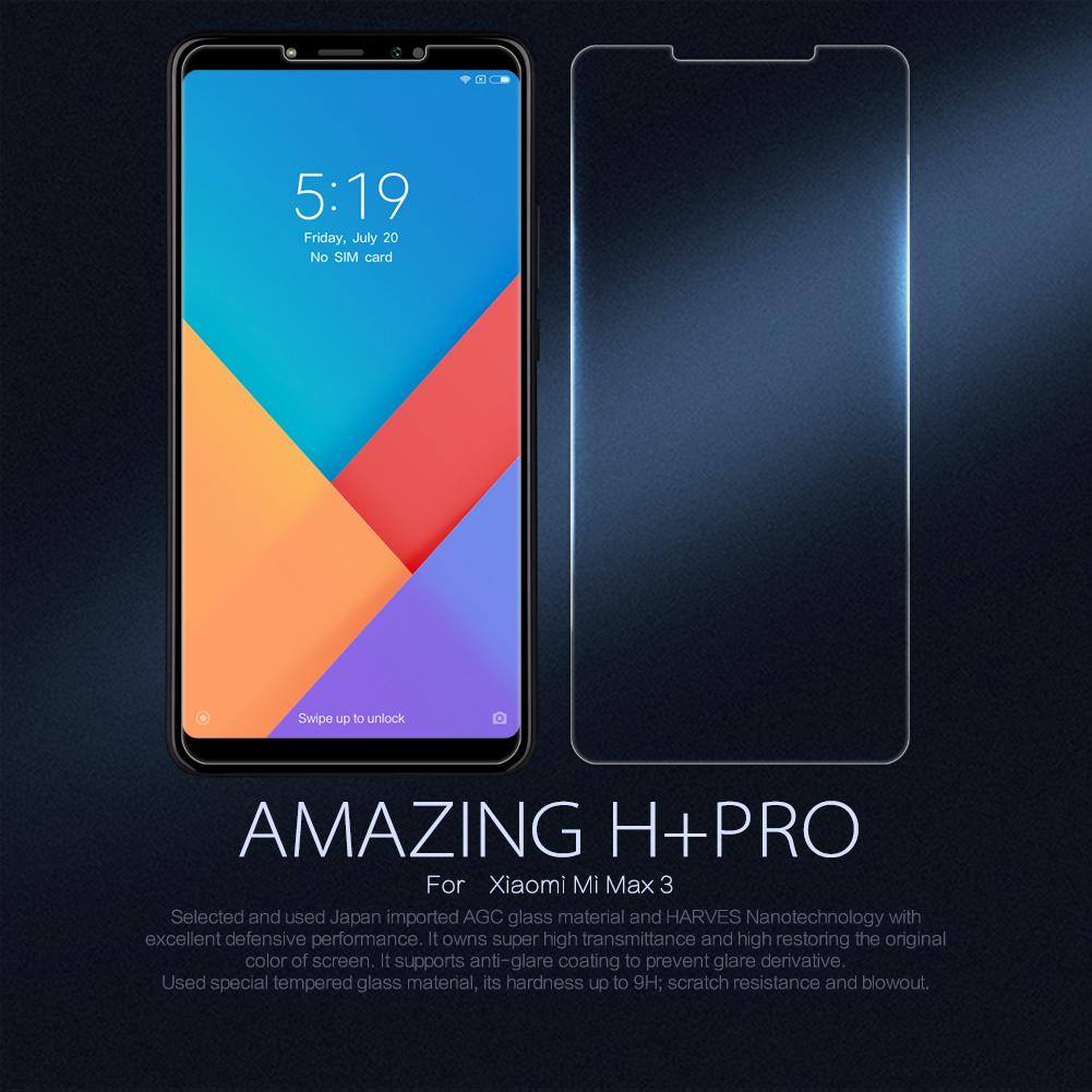 ฟิล์มกระจกนิรภัย Xiaomi Mi Max 3
