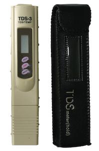 TDS Meter วัดคุณภาพน้ำ วัดสารละลายเจือปนในน้ำ