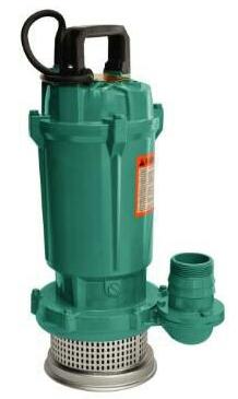 QDX Submersible Drainage Pumps ปั๊มแข่ดูดน้ำดี (ตัวอลูมิเนียม) รุ่น QDX 10-16-0.75K1