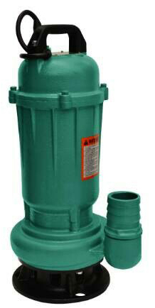 WQD Submersible Sewage Pumps ปั๊มแช่ดูโคลน (ตัวเหล็กหล่อ) รุ่น WQD 6-12-0.55