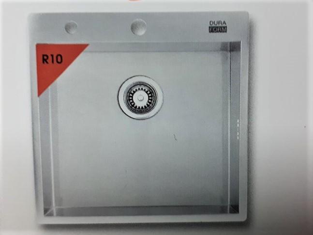 อ่างล้างจาน DURAFORM รุ่น Cubic (R10)