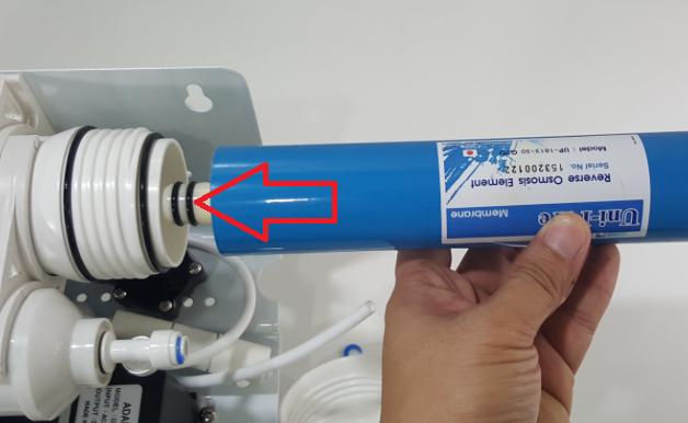 ทิศทางการใส่ใส้กรอง Membrane RO