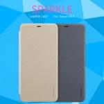 เคสมือถือ Xiaomi Mi8 รุ่น Sparkle Leather Case