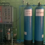 ติดตั้งระบบกรองน้ำโรงงานน้ำดื่ม เครื่องผลิตน้ำ R.O.12000 ลิตรต่อวัน