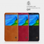 เคสมือถือ Xiaomi Redmi Note 5 / Xiaomi Redmi Note 5 Pro รุ่น Qin Leather Case