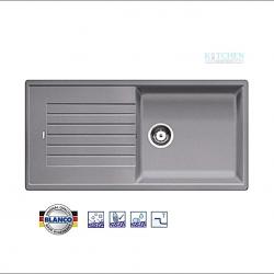 อ่างล้างจาน HAFELE รุ่น BLANCO ZIA XL 6 S สีอลูเมทัลลิคCat. No.495.39.219