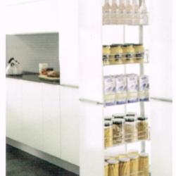ชุดตะแกรงตู้สูง 5 ชั้น หน้าบานกว้าง 300 มม. รุ่น HG-201102