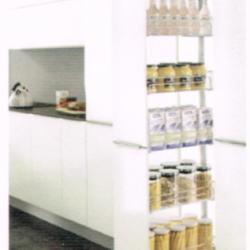 ชุดตะแกรงตู้สูง 5 ชั้น หน้าบานกว้าง 400 มม. รุ่น HG-201105