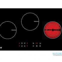 เตาแก๊สฝัง EVE รุ่น HB73-2IND1DVC/TC