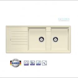 อ่างล้างจาน HAFELE รุ่น BLANCO ZIA 8 S สีจัสมีน Cat. No.495.39.038