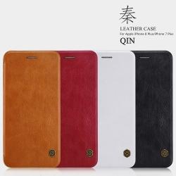 เคสมือถือ Apple iPhone 8 Plus รุ่น Qin Leather Case