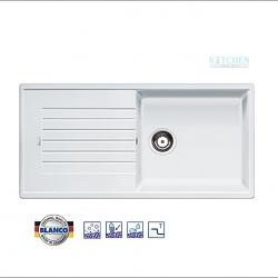 อ่างล้างจาน HAFELE รุ่น BLANCO ZIA XL 6 S สีขาว Cat. No.495.39.218