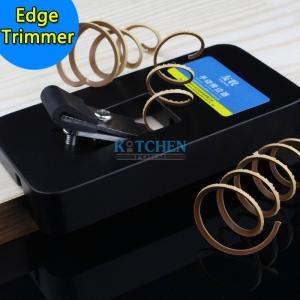 ตัวอย่างการใช้งานเครื่องเก็บขอบแผ่นเอจ (Manual Edge Banding Trimmer)