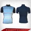 เสื้อจักรยาน แขนสั้น สี ลายฟ้า - ดำ