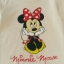H&M : เสื้อยืดแขนยาว มินนี่เมาส์ สีครีม size : 2-4y thumbnail 2
