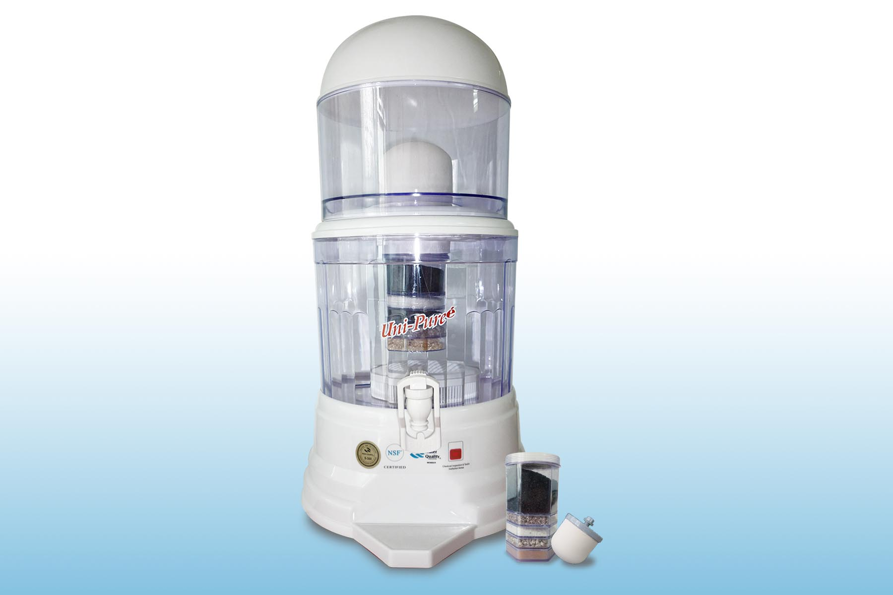 เครื่องกรองน้ำแร่ Unipure 14 ลิตร