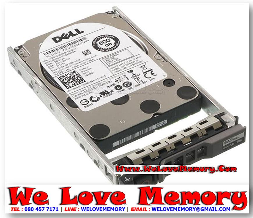 "Dell 600GB 6G 10K 2.5/"" SAS 400-25627 HDD Hard Drive w// R Series Tray"
